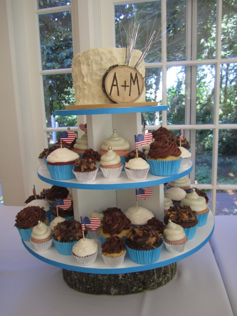 Angela and Matt Wedding Cupcakes 2 | Whisk Sweets