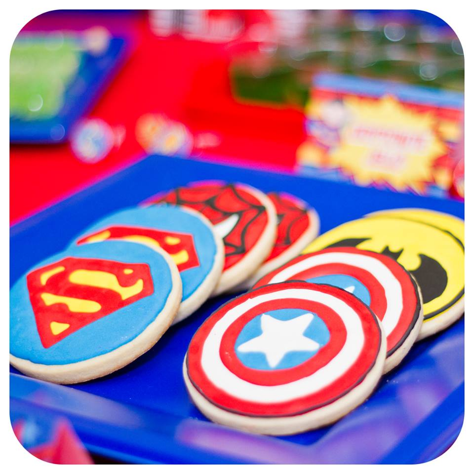 Superhero Cookies 2