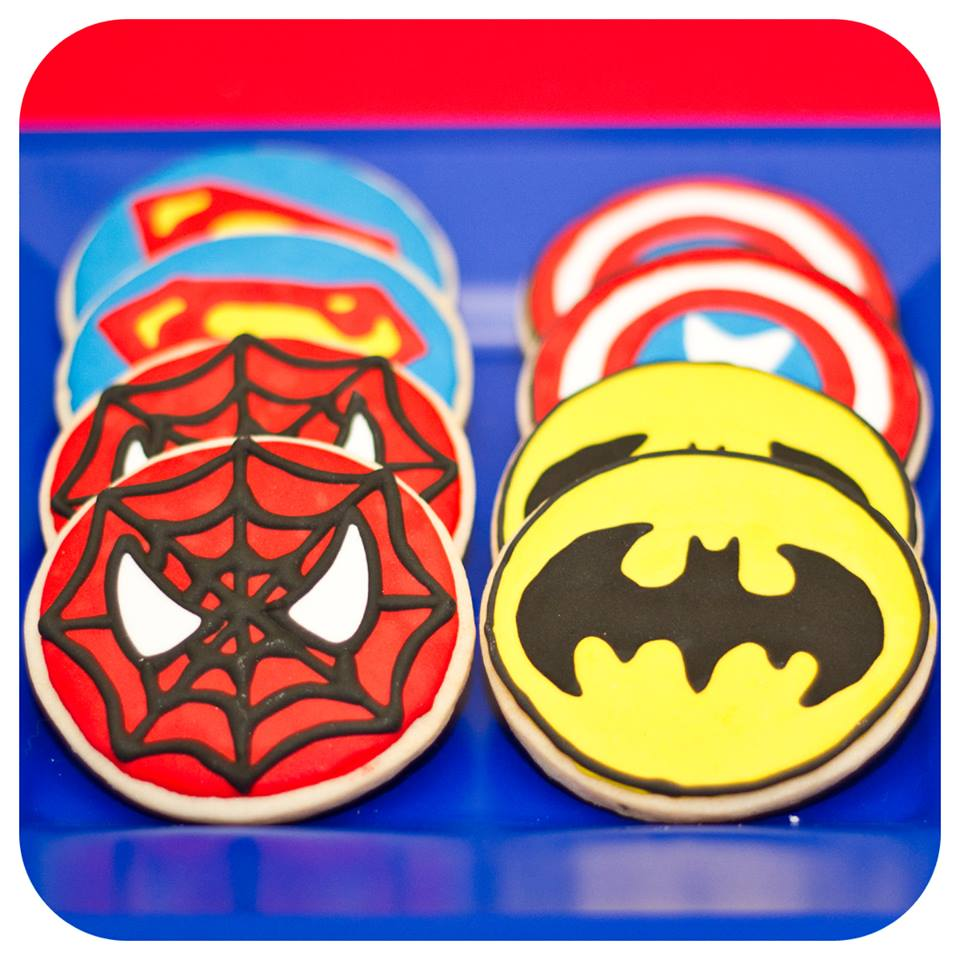 Superhero Cookies 3