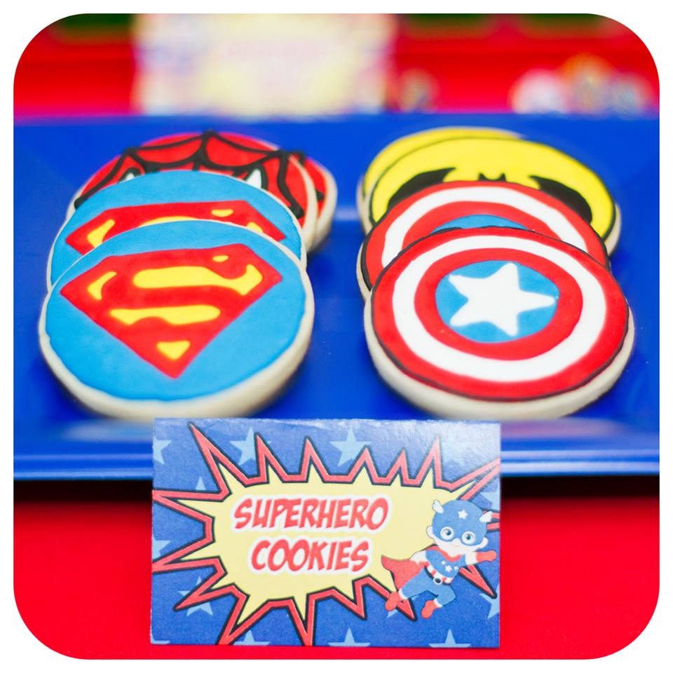 Superhero Cookies 4