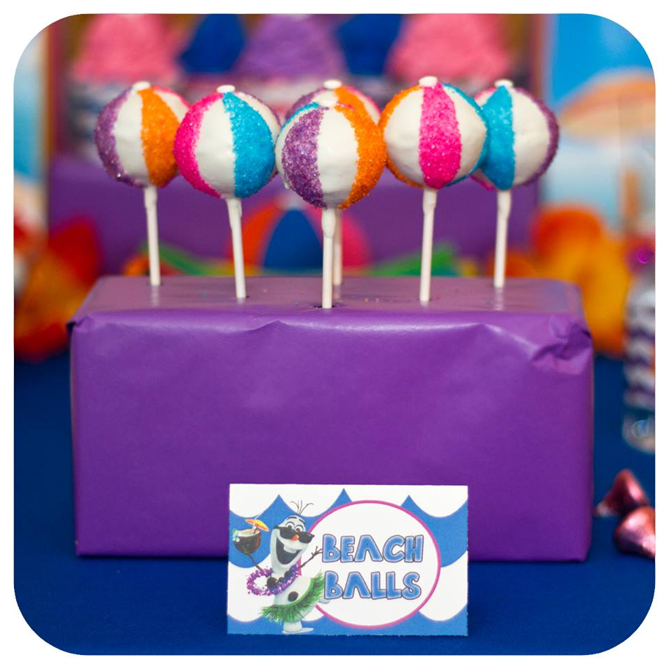 Beach Ball Cake Pops | Whisk Sweets